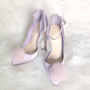 Nine West NWOT Pom Pom Heels